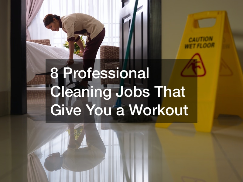 how to workout while cleaning